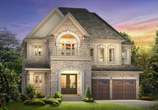 Meadow Green, Riverview Heights and Credit Manor Heights construction developments by new home builders along Mississauga Rd. at Steeles Ave. West.